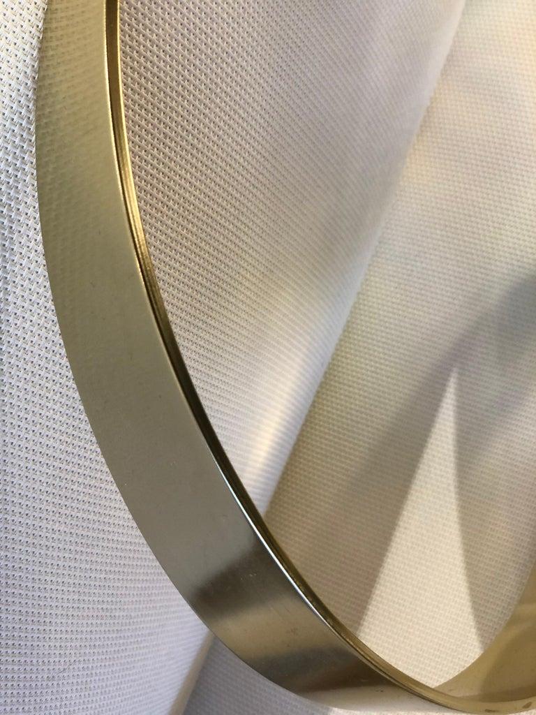 American Gilt Aluminum Abstract Sculpture by Dan Murphy For Sale