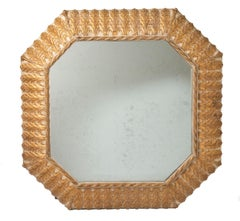 Gilt and Gesso Mirror, Italy, circa 1870