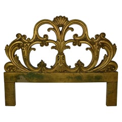 Gilt Bed Headboard