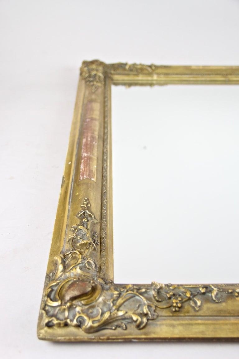 Gilt Biedermeier Mirror, France circa 1820 For Sale 7