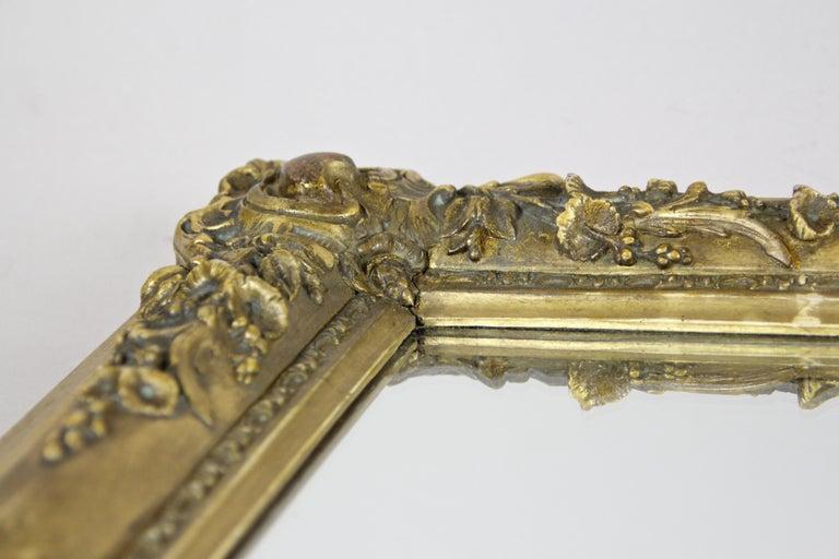 Gilt Biedermeier Mirror, France circa 1820 For Sale 9