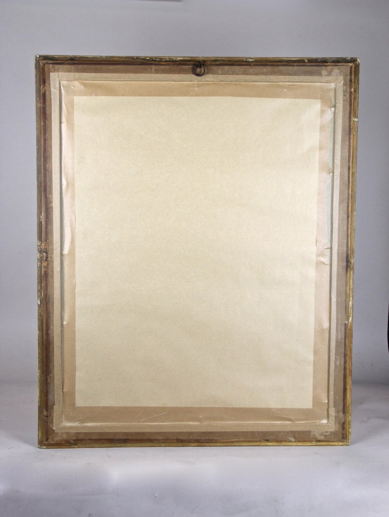 Gilt Biedermeier Mirror, France circa 1820 For Sale 10