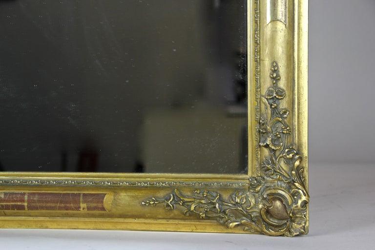 Gilt Biedermeier Mirror, France circa 1820 For Sale 2