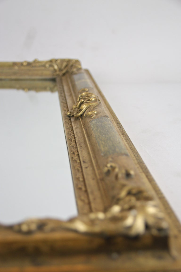 Gilt Biedermeier Wall Mirror, Austria, circa 1850 For Sale 10