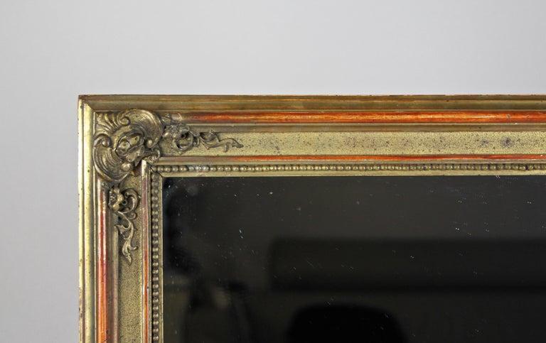 Austrian Gilt Biedermeier Wall Mirror, Austria, circa 1850 For Sale