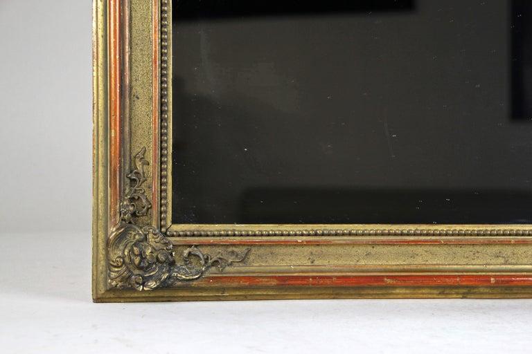 Gilt Biedermeier Wall Mirror, Austria, circa 1850 For Sale 2