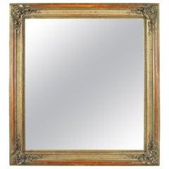 Gilt Biedermeier Wall Mirror, Austria, circa 1850