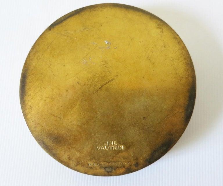 Gilt Bronze Box by Line Vautrin For Sale 1