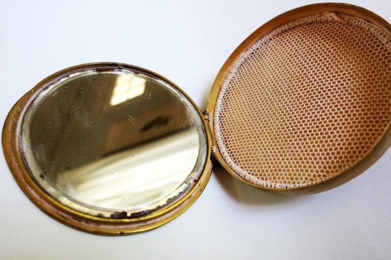 20th Century Gilt Bronze Box by Line Vautrin For Sale