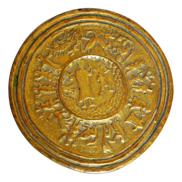 Gilt Bronze Box by Line Vautrin For Sale