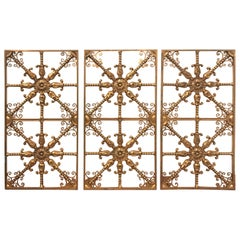 Gilt Bronze Bronze Beaux Arts Architectural Panels
