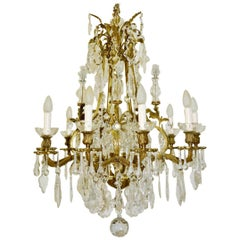 Gilt Bronze Chandelier