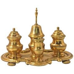 Gilt Bronze Desk Set