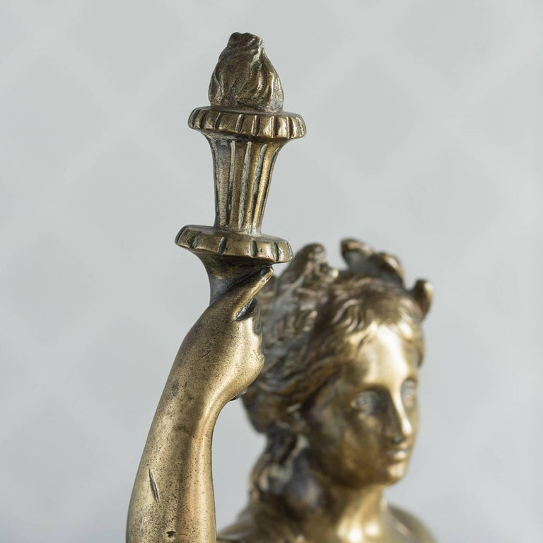 Gilt Bronze Model of Ceres For Sale 4