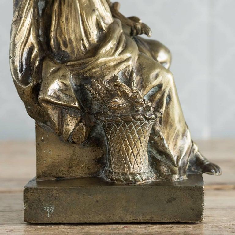 Gilt Bronze Model of Ceres For Sale 7