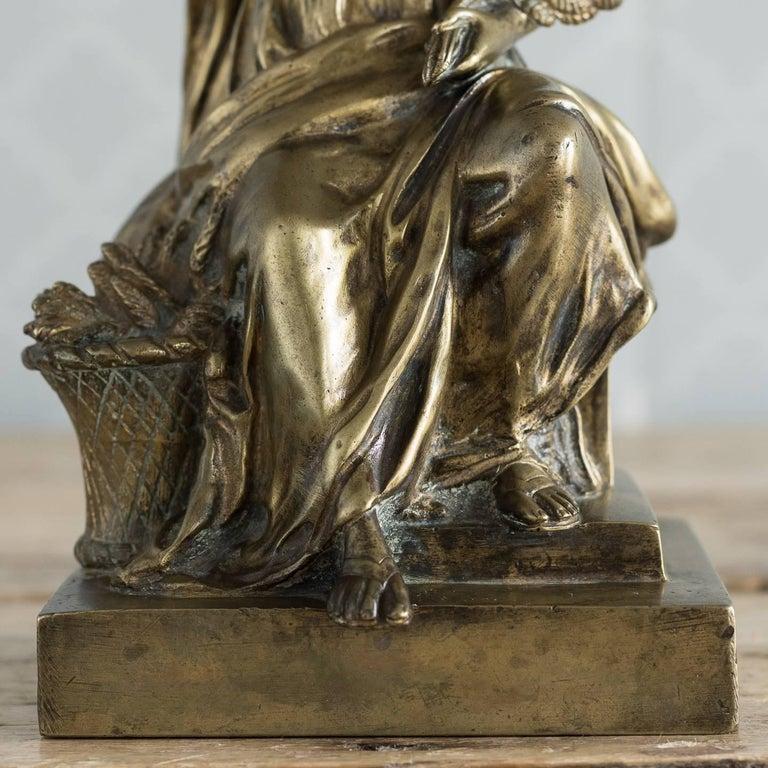 Gilt Bronze Model of Ceres For Sale 8