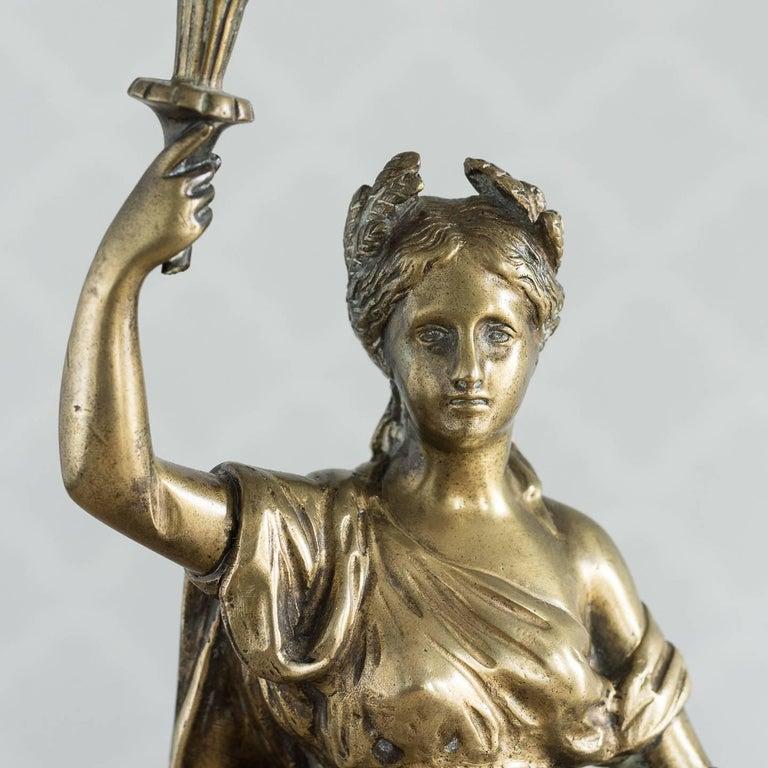 Gilt Bronze Model of Ceres For Sale 1