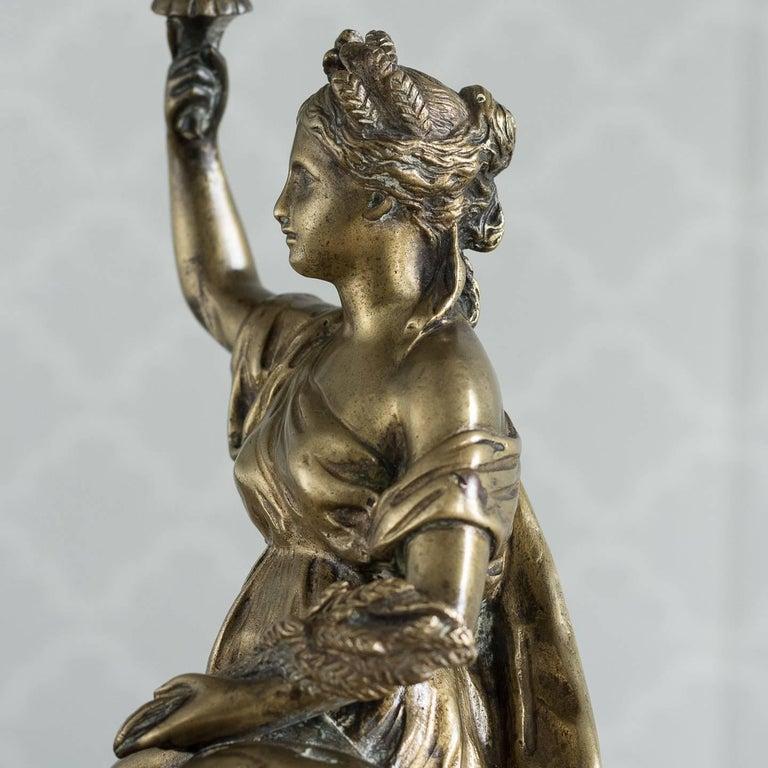 Gilt Bronze Model of Ceres For Sale 2