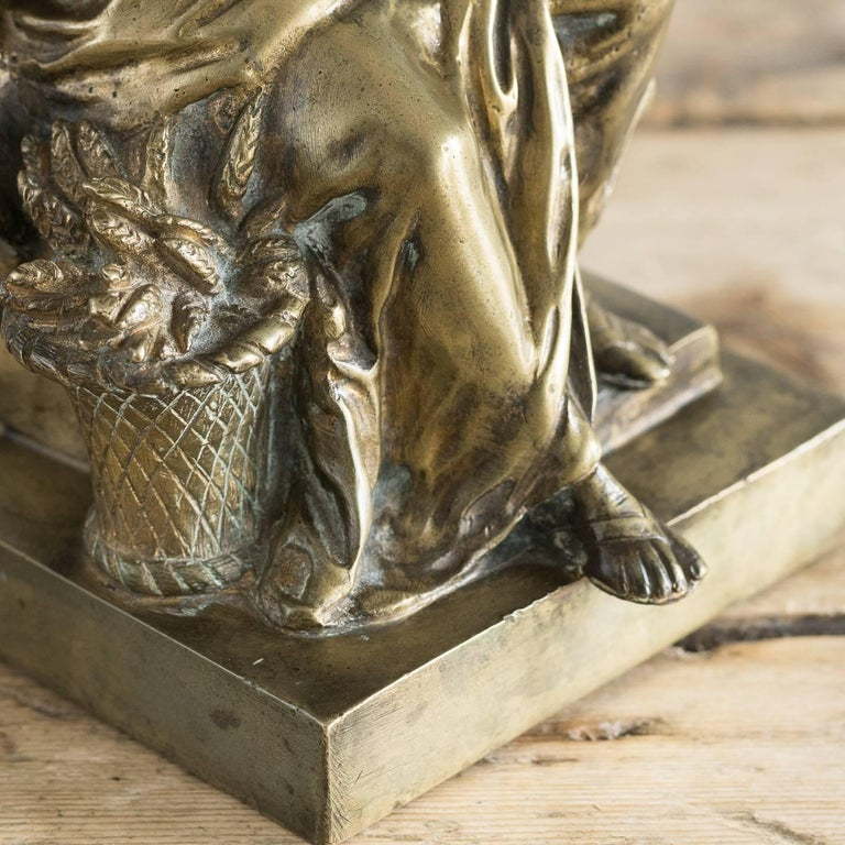 Gilt Bronze Model of Ceres For Sale 3