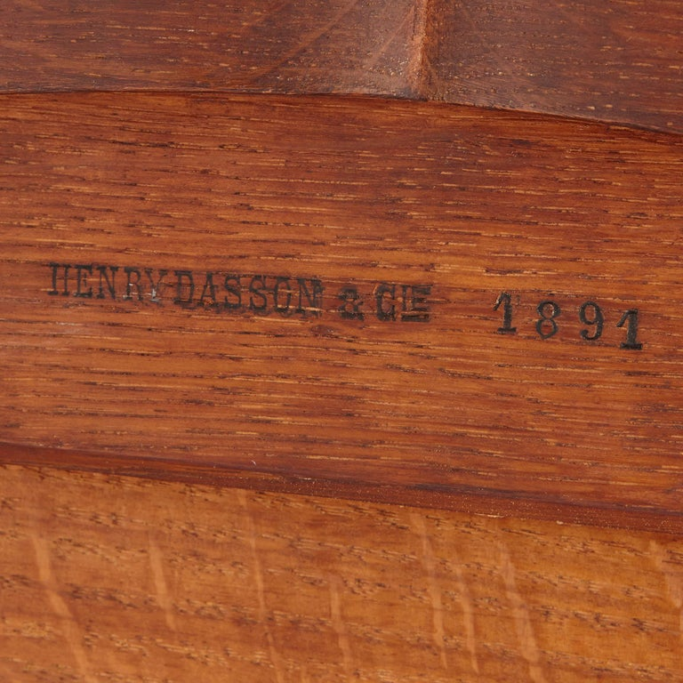 Gilt Bronze-Mounted Tulipwood, Sycamore and Marquetry Writing Table by Dasson  For Sale 2