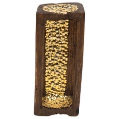 Studded Candle Sconce by Brian Stanziale