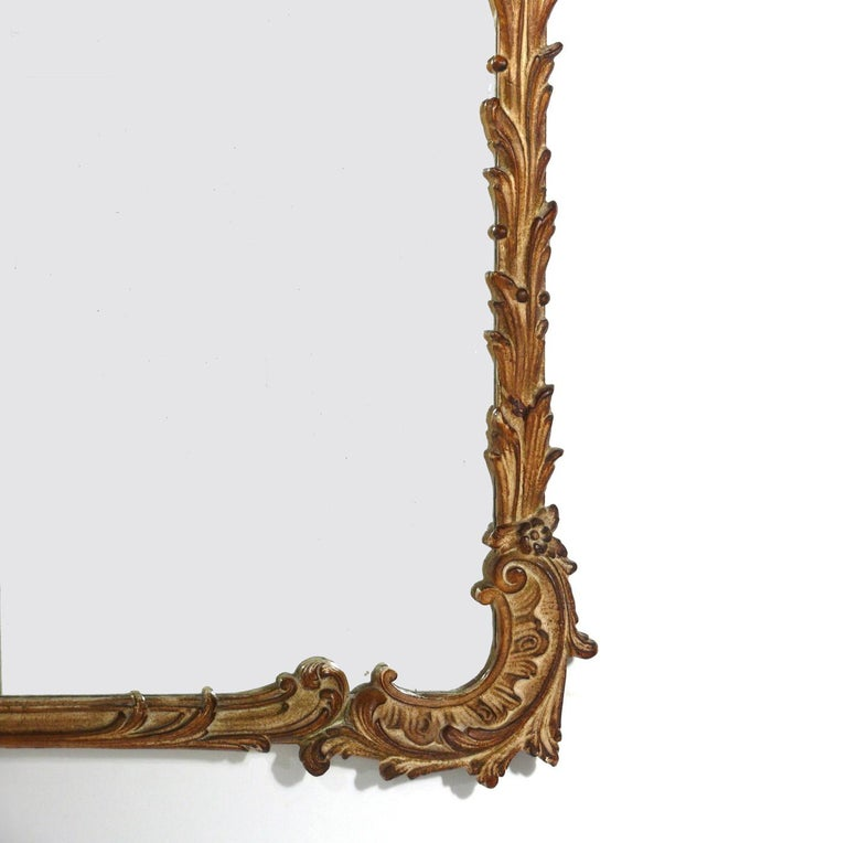 Gilt Chinoiserie Mirror, circa 1940s In Good Condition For Sale In Atlanta, GA
