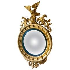 Gilt Convex Mirror, English, circa 1860
