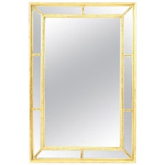Gilt Faceted Mirror
