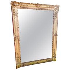 Gilt Mirror / Overmantel, circa 1890