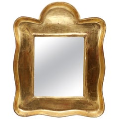 Gilt Mirror with Bold Lines