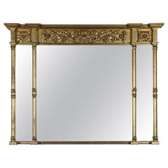 Gilt Overmantle Mirror 'ex. Invercauld Castle'