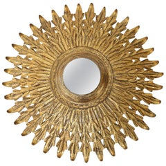 Gilt Tole Flush Mount Light