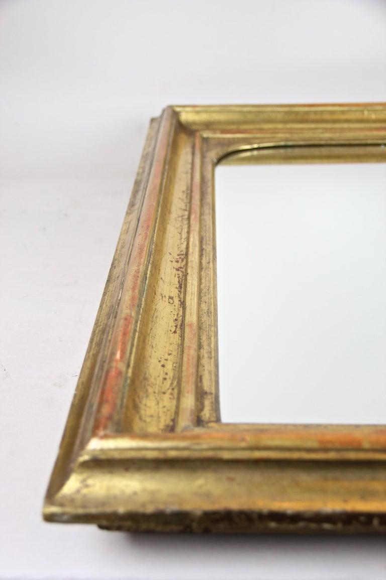 Gilt Wall Mirror Early Biedermeier Period, Austria, circa 1825 For Sale 4