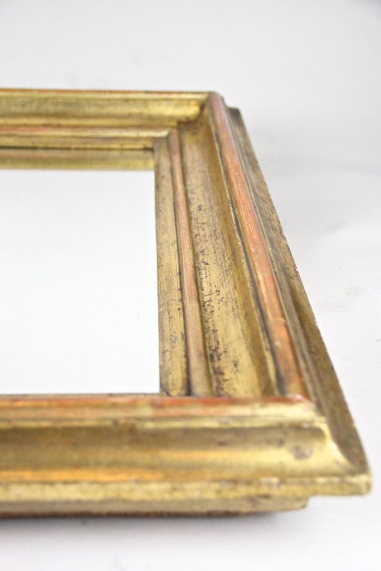 Gilt Wall Mirror Early Biedermeier Period, Austria, circa 1825 For Sale 7
