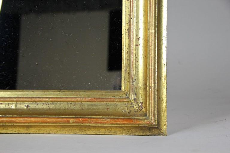 19th Century Gilt Wall Mirror Early Biedermeier Period, Austria, circa 1825 For Sale