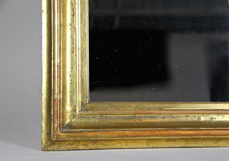Gilt Wall Mirror Early Biedermeier Period, Austria, circa 1825 For Sale 1