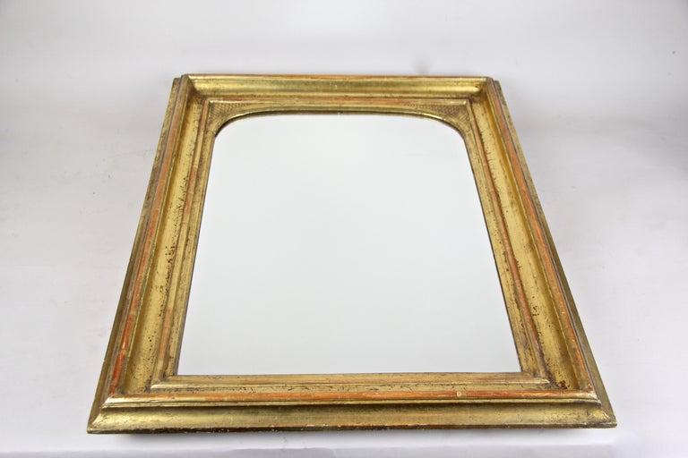 Gilt Wall Mirror Early Biedermeier Period, Austria, circa 1825 For Sale 2