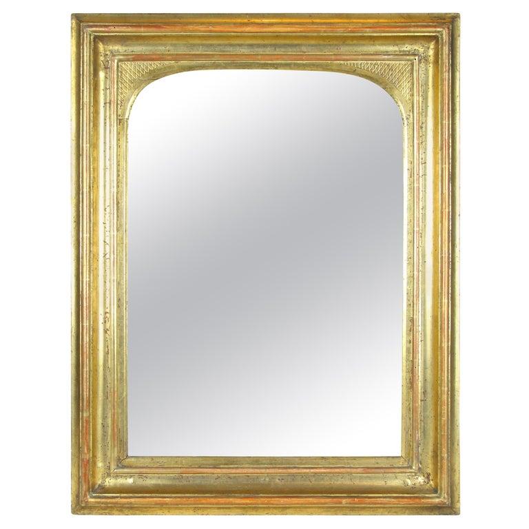 Gilt Wall Mirror Early Biedermeier Period, Austria, circa 1825 For Sale