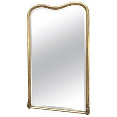 Gilt Wood Beveled Mirror, France, circa 1910-1920