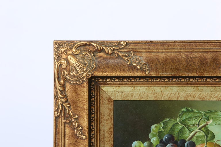 Giltwood Frame Oil on Canvas Painting For Sale 3