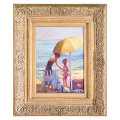 Gilt Wood Framed Oil / Canvas Painting