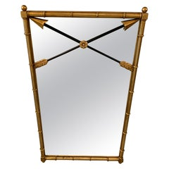Giltwood Neoclassical Mirror