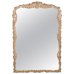 Giltwood Frame Mantel / Fire Place Wall Mirror