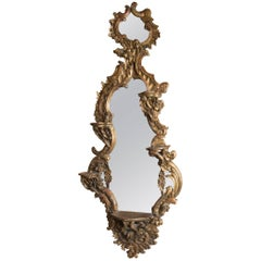 Giltwood Italian Roccoco Mirror