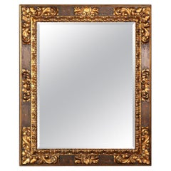 Giltwood Ralph Lauren Polo French Rococo Style Wall Mirror