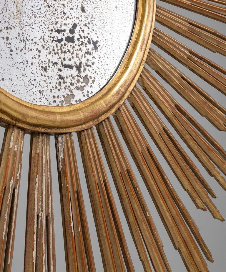 Giltwood Sunburst Mirror 1