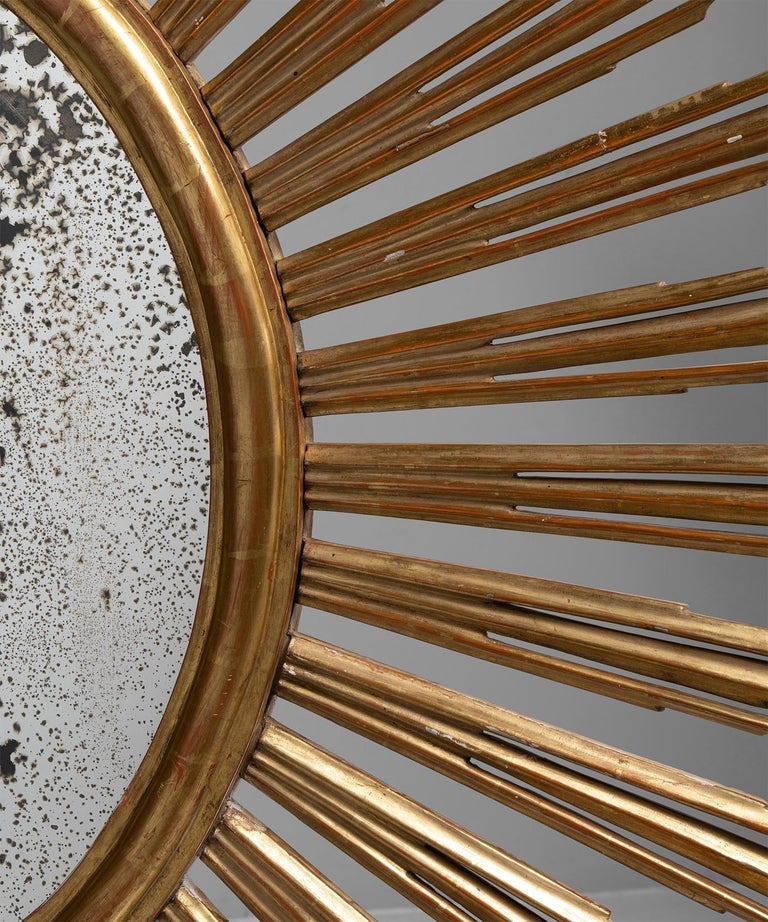 Giltwood Sunburst Mirror 2