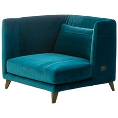 """Gimme More"" Left or Right Armchair with Fiber or Goose by Moroso for Diesel"
