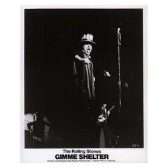 Gimme Shelter 1971 U.S. Silver Gelatin Single-Weight Photo