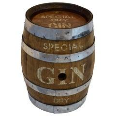 Gin Cask, Barrel